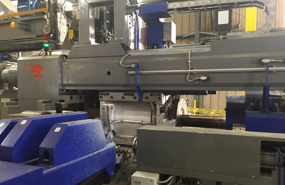 Extrusion Press for Cuprum